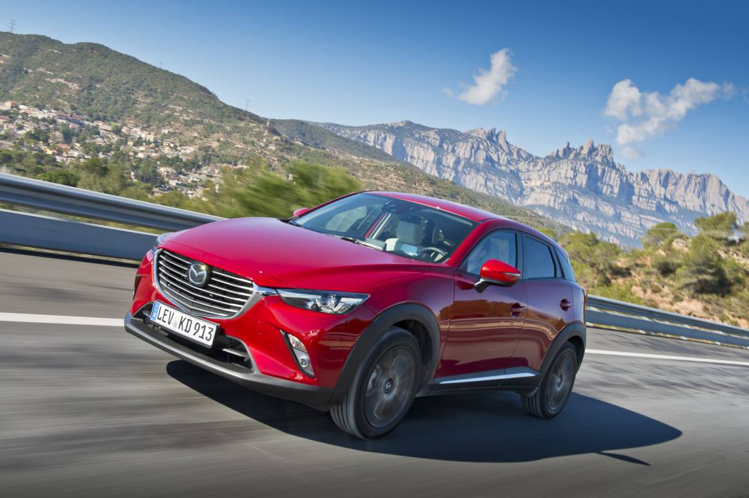 Mazda CX-3 Luxury, rebelde y distinguido