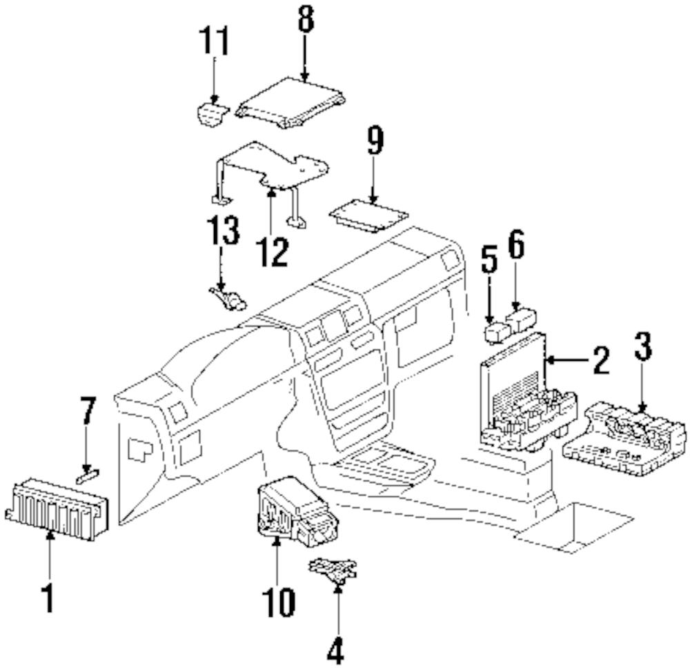 Imagen de Relé de Corriente Accesorios para Mercedes-Benz C230 2007 Marca MERCEDES OEM Número de Parte 0025421319