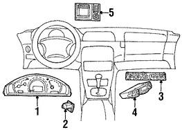 Imagen de Panel de Instrumentos Original para Mercedes-Benz C280 2007 Mercedes-Benz C350 2007 Mercedes-Benz C230 2007 Marca MERCEDES BENZ Número de Parte 2035404848