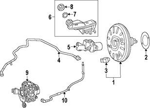 Imagen de Rotor del Disco de freno Original para Mercedes-Benz B Electric Drive 2015 2016 Mercedes-Benz  2017 Marca MERCEDES BENZ Número de Parte 2464301430