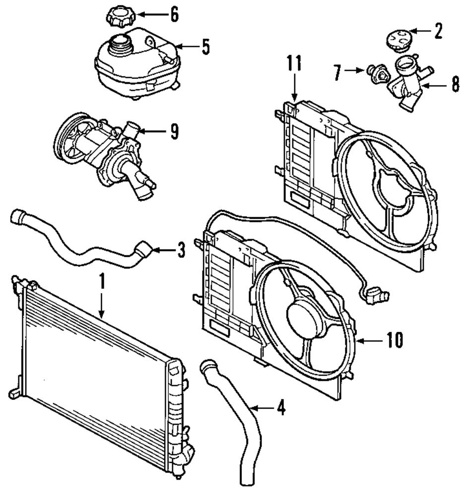 Imagen de Tapa de radiador para Mini Cooper Cooper 2008 Marca MINI OEM Número de Parte 11531486703