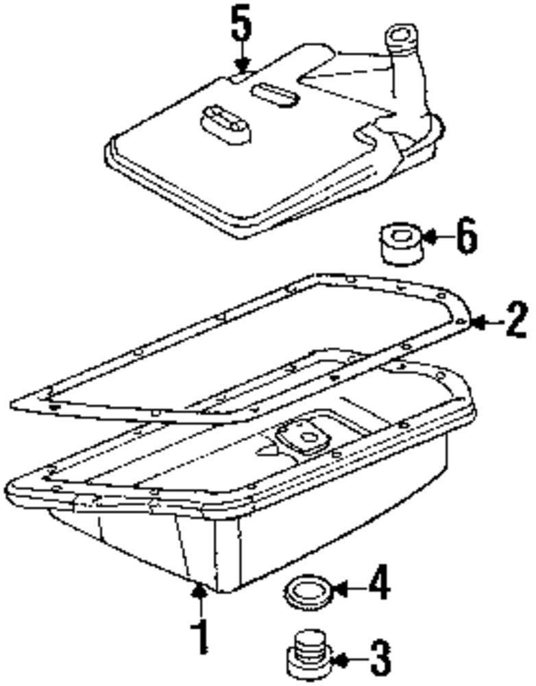 Imagen de Filtro Transmison Automatica para Mini Cooper Cooper 2008 Marca MINI OEM Número de Parte 24 11 7 518 741