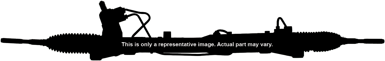 Imagen de Piñon Cremallera Dirección Hidráulica, unidad completa para Kia Rondo 2009 2010 2011 2012 Marca CARDONE Número de Parte 26-2452 Remanufacturado