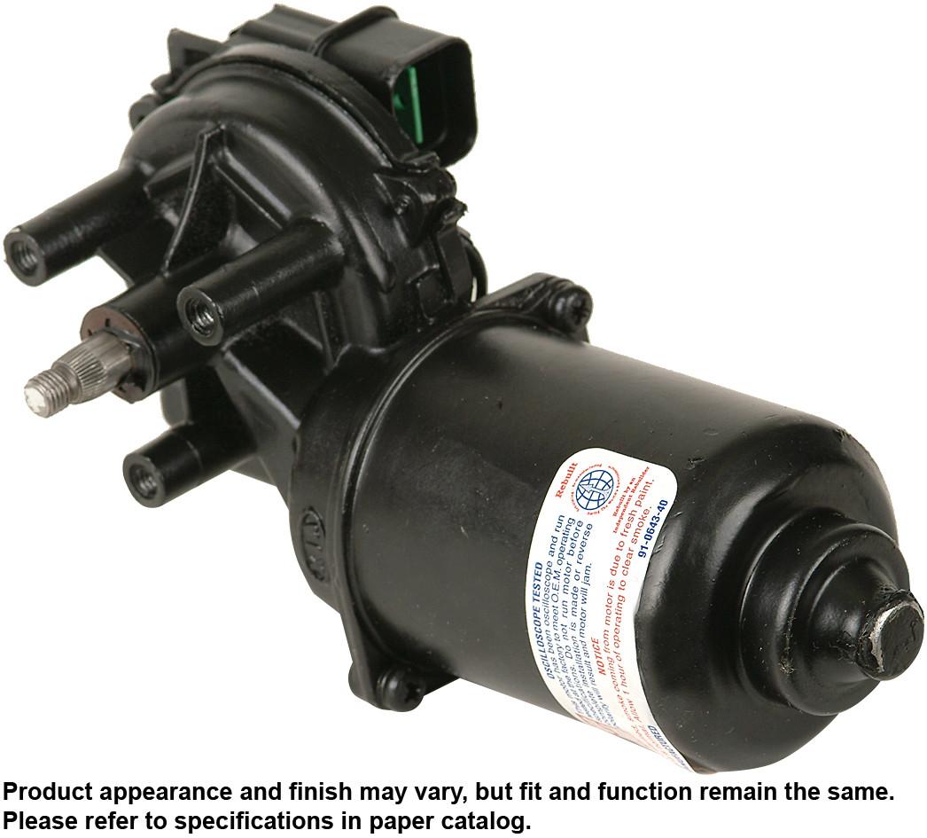 Imagen de Motor de Limpiaparabrisas para Kia Sportage 2000 2001 2002 Marca CARDONE Remanufacturado Número de Parte 43-4451