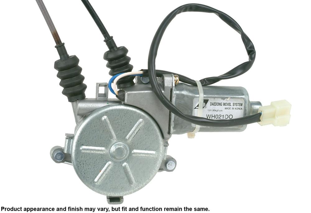 Imagen de Motor y Regulador de Vidrio Automatico para Kia Sportage 1997 1998 1999 Marca CARDONE Remanufacturado Número de Parte 47-4515R