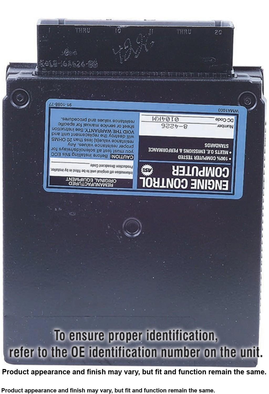 Imagen de Computadora del Motor para Ford Ranger 1994 Mazda Navajo 1994 Mazda B4000 1994 Marca CARDONE Número de Parte 78-5779 Remanufacturado