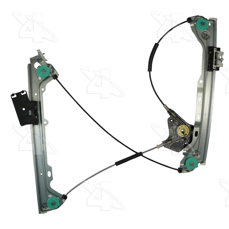 Imagen de Regulador de Vidrio Automatico para BMW 335i 2008 Marca ACI/MAXAIR Número de Parte 384848