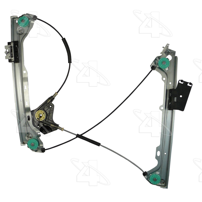 Imagen de Regulador de Vidrio Automatico para BMW 335i 2008 Marca ACI/MAXAIR Número de Parte 384849