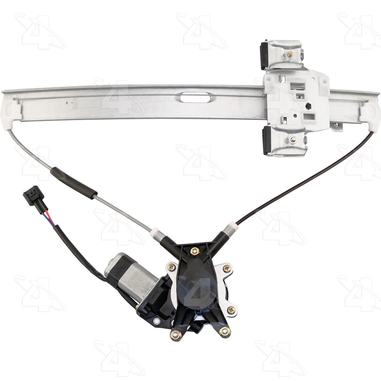 Imagen de Motor y Regulador de Vidrio Automatico para Mitsubishi Raider 2007 Marca ACI/MAXAIR Número de Parte 86890