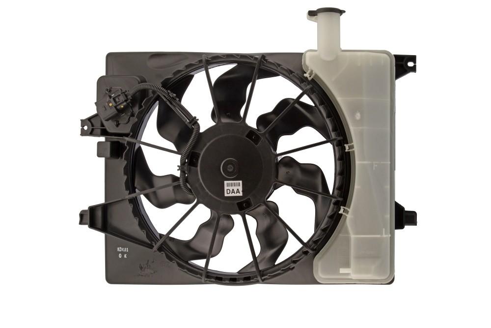 Imagen de Montura de ventilador de enfriado de motor para Hyundai Elantra 2014 Hyundai Elantra Coupe 2014 Marca AUTO 7 Número de Parte 320-0262