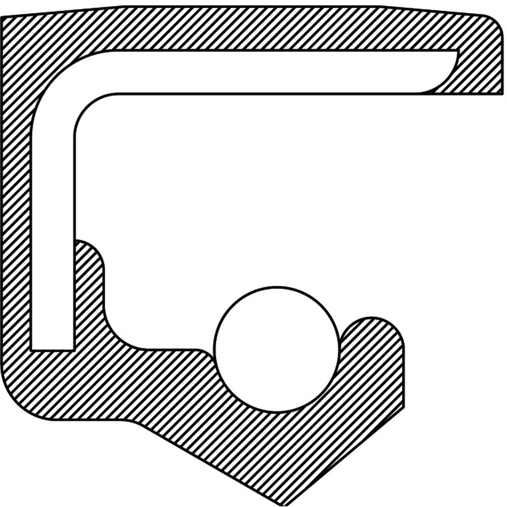 Imagen de Sello del cigueñal del motor para Honda CR-V 2014 Marca NATIONAL SEAL/BEARING Número de Parte 710608