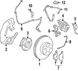 Imagen de Conjunto de Cojinete de Rodamiento y Maza Original para BMW Marca BMW Número de Parte 31206867088