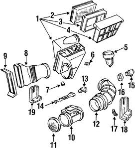 Imagen de Válvula de Control de Marcha Mínima Original para BMW 325i 1992 1993 BMW 325is 1992 1993 Marca BMW Número de Parte 13411433626