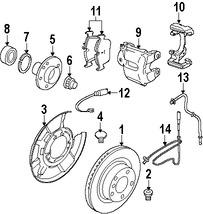 Imagen de Manguera de freno hidráulico Original para BMW Marca BMW Número de Parte 34306792253