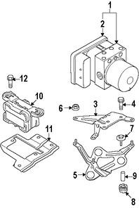 Imagen de Conjunto hidráulico de frenos ABS Original para BMW 328i 2007 BMW 335i 2007 Marca BMW Número de Parte 34516778486