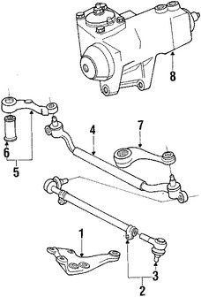 Imagen de Caja de Engranajes Original para BMW 633CSi 1984 BMW 635CSi 1985 1986 1987 Marca BMW Remanufacturado Número de Parte 32131126621
