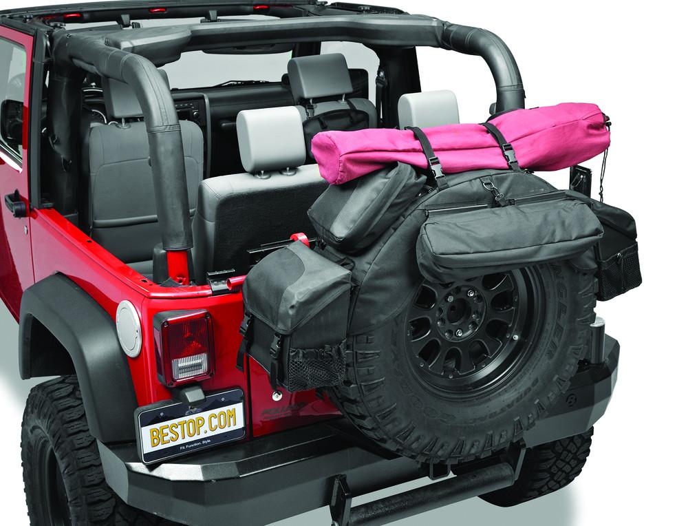 Imagen de Sistema de Manejo de Carga para Jeep Wrangler Marca BESTOP Número de Parte 54133-35