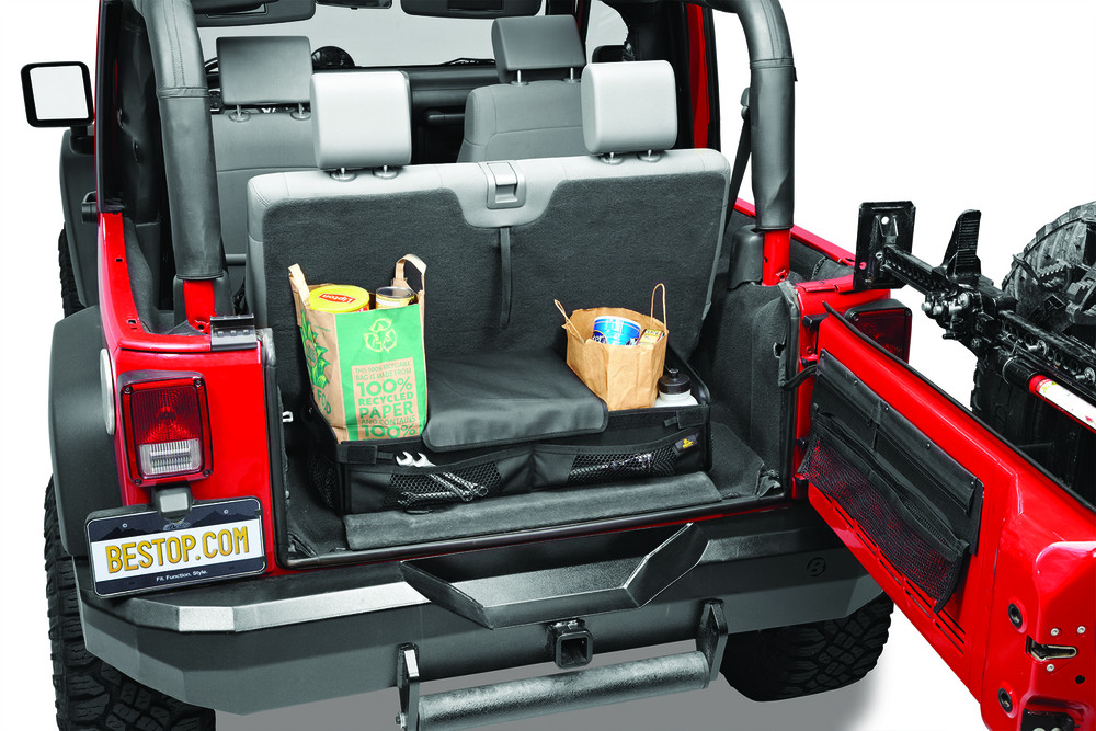 Imagen de Sistema de Manejo de Carga para Jeep Wrangler Marca BESTOP Número de Parte 54137-35
