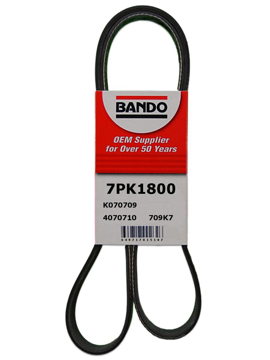 Imagen de Banda serpentina para Subaru XV Crosstrek 2014 Marca BANDO Número de Parte 7PK1800