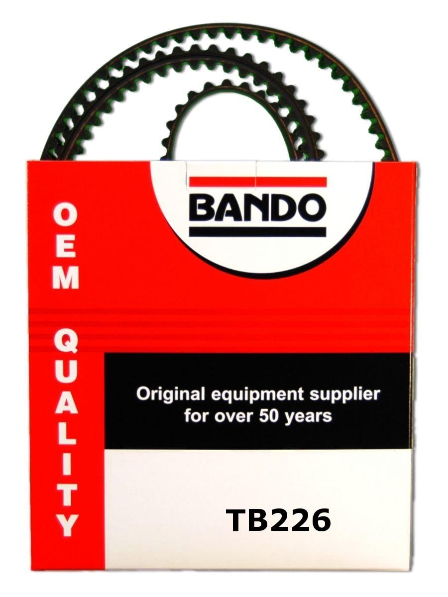 Imagen de Correa de Tiempo OHC Precision Engineered para Honda Prelude 1998 1999 2000 2001 Marca BANDO Número de Parte TB226