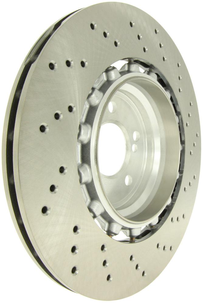 Imagen de Rotor disco de freno  Perforado Tipo OE para BMW M3 2015 2016 BMW M2 2016 2017 BMW M4 2015 2016 Marca CENTRIC PARTS Número de Parte 128.34161