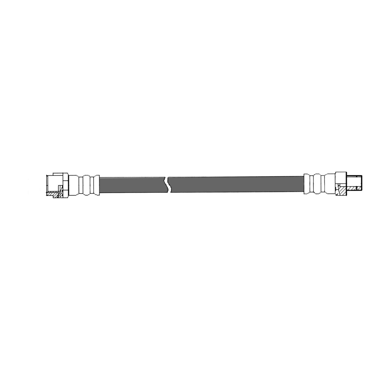 Imagen de Manguera de freno hidráulico para Mercedes-Benz C240 2005 Marca CENTRIC PARTS Número de Parte 150.35014