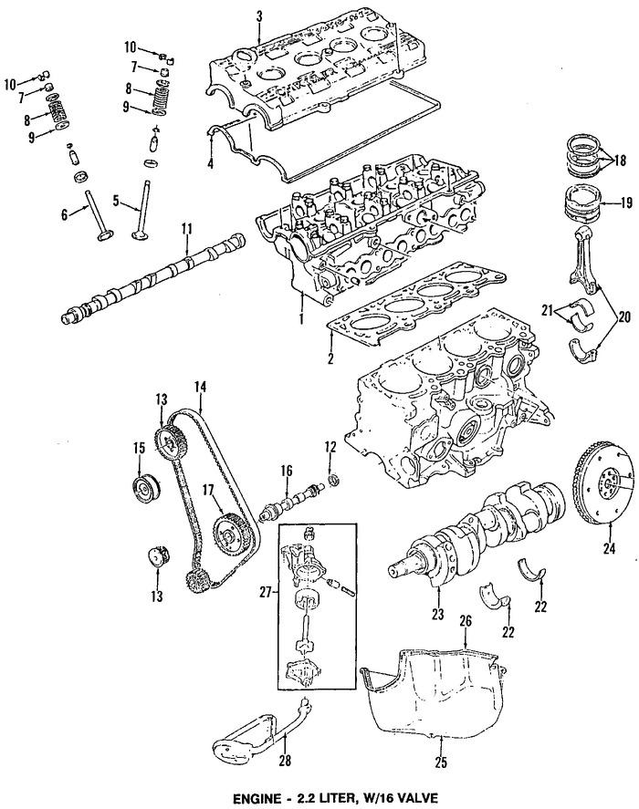 Imagen de Empacadura de Cubierta de Válvula Original para Chrysler TC Maserati 1990 Marca CHRYSLER Número de Parte 4425996