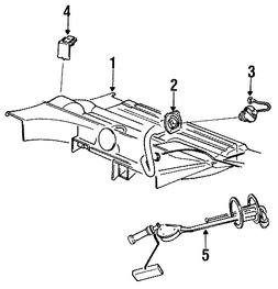 Imagen de Unidad Emisora del Tanque de Combustible Original para Chrysler Executive Limousine 1985 Chrysler New Yorker 1985 Marca CHRYSLER Número de Parte 4051849