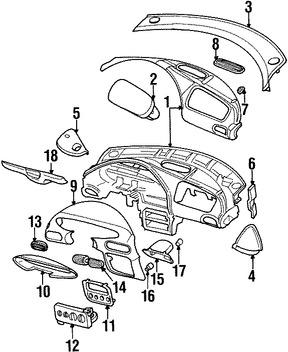 Imagen de Plato de Embrague de Transmisión Automática Original para Chrysler Sebring 1996 1997 Chrysler Cirrus 1998 Marca CHRYSLER Número de Parte PM14SJL