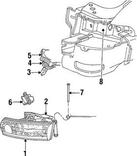 Faros y Luces para Dodge Stratus 2002
