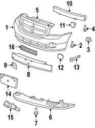 Repuestos y Accesorios para autos Dodge Caliber