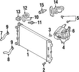 Sensores, Interruptores y relés para Chrysler Town