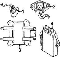 Imagen de Computadora del Motor Original para Chrysler Cirrus 1995 Dodge Stratus 1995 Marca CHRYSLER Remanufacturado Número de Parte R4606185
