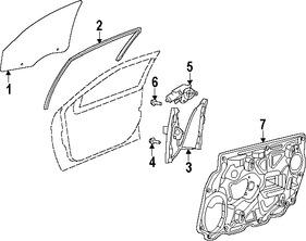 Imagen de Canal de Crista Original para Chrysler 200 2011 2012 2013 2014 Marca CHRYSLER Número de Parte 5074561AI