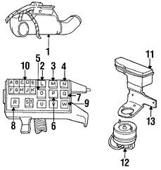Imagen de Computadora del Motor Original para Chrysler Imperial 1993 Chrysler New Yorker 1993 Marca CHRYSLER Remanufacturado Número de Parte R4887286AA
