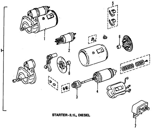 Imagen de Solenoide de Encendido Original para Jeep Cherokee 1985 1986 Jeep Comanche 1986 Jeep Wagoneer 1985 Marca CHRYSLER Número de Parte 83502879