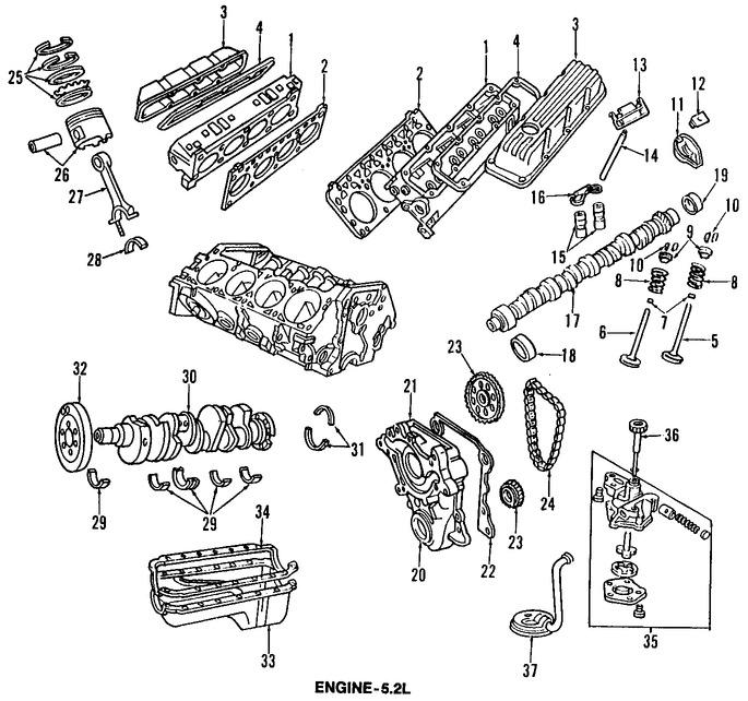 Repuestos para Jeep Grand Cherokee 1997