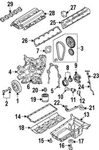 Imagen de Culata del motor Original para Dodge Ram 1500 2004 Dodge Viper 2003 2004 2005 Marca CHRYSLER Número de Parte 5037064AE
