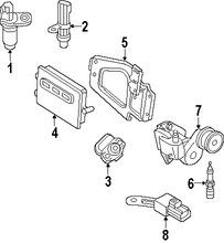 Sensor de posición de la mariposa del acelerador para Jeep