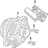 Imagen de Alternador Original para Dodge Ram 2500 2010 Dodge Ram 3500 2010 Marca CHRYSLER Número de Parte 4801311AE
