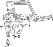 Imagen de Módulo de control de ABS Original para Jeep Patriot 2007 Jeep Compass 2007 Marca CHRYSLER Número de Parte 5191003AD