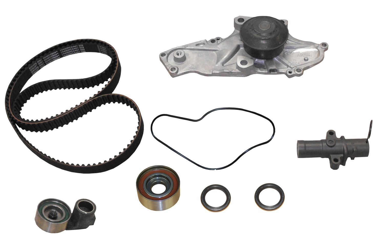 Imagen de Kit de Correa del Tiempo con Bomba de Agua y Sellos para Honda Acura Saturn Marca CRP Número de Parte #PP329LK1