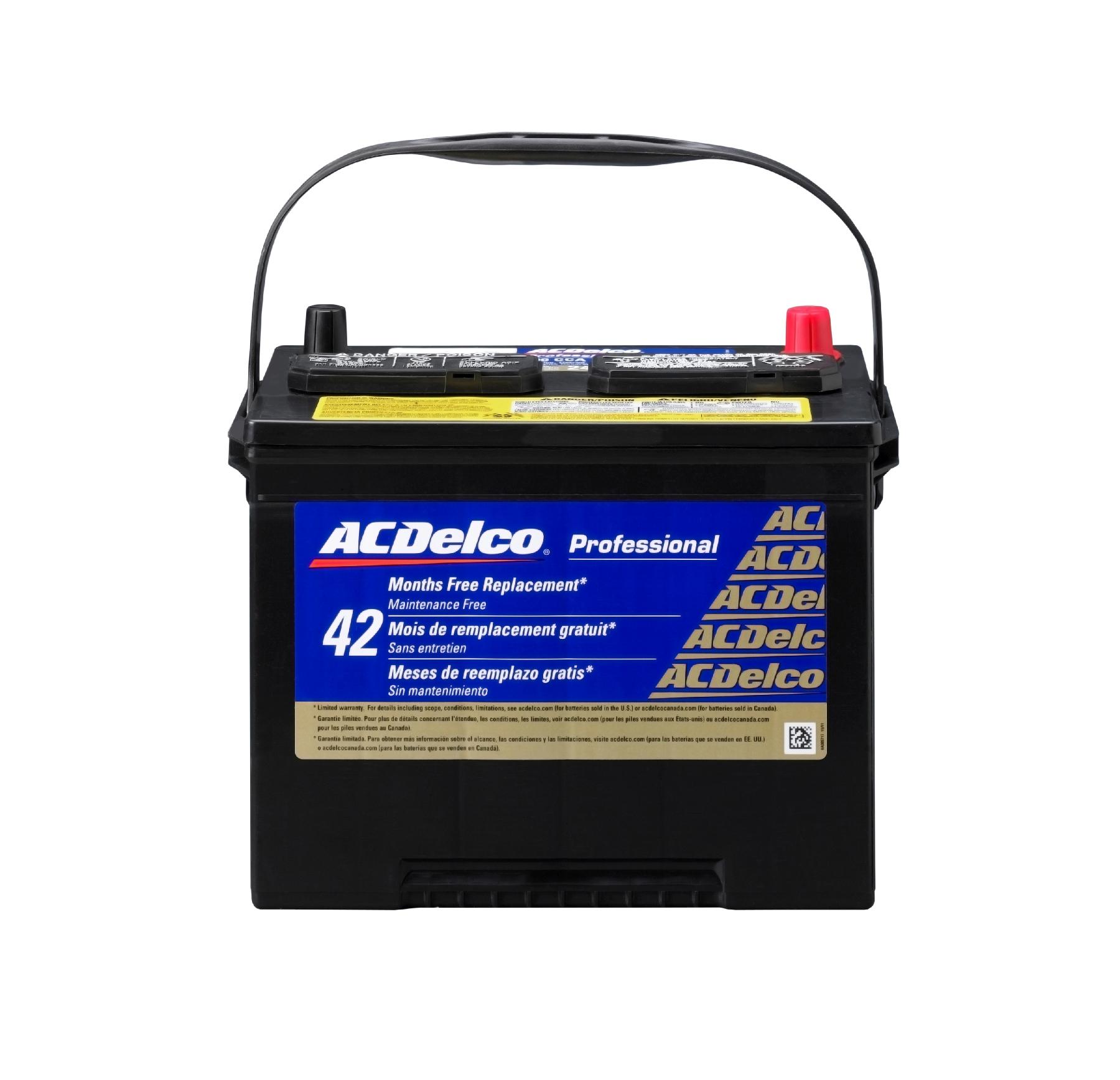 Imagen de Batería para Honda Accord 1999 Acura Legend 1992 Marca AC Delco Número de Parte #24PG
