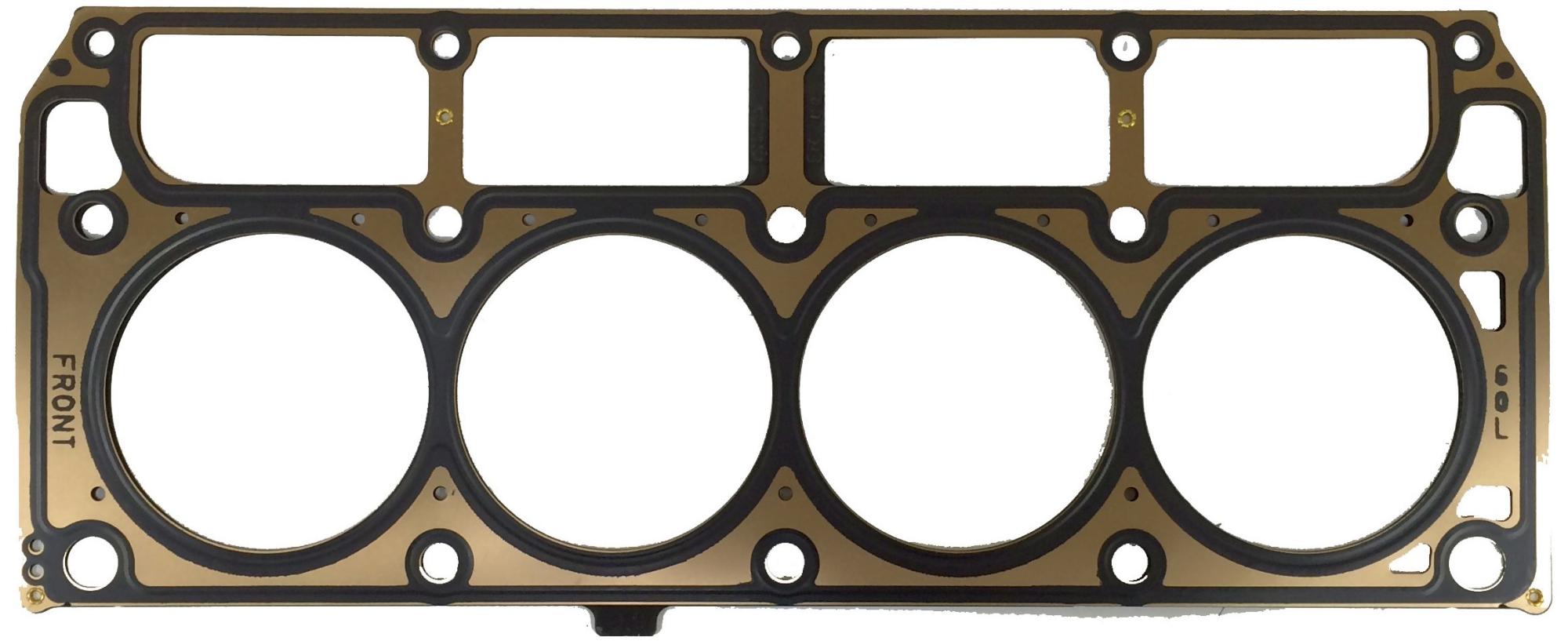 Imagen de Empacadura de la culata para GMC Sierra 1500 2003 Hummer H2 2004 Marca AC Delco Número de Parte 12589227