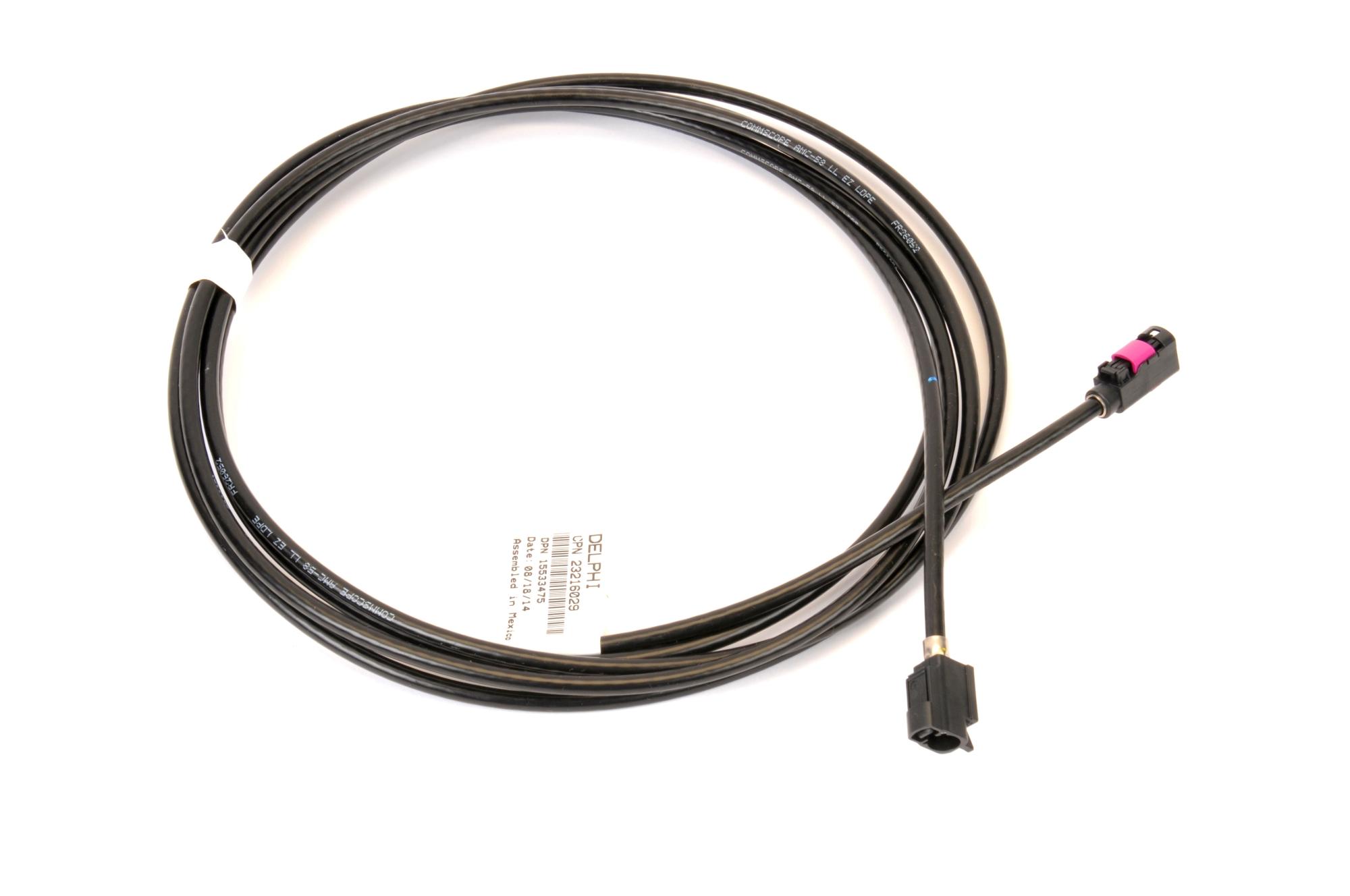 Imagen de Cable de Antena de Radio para Chevrolet Malibu 2015 Chevrolet Malibu Limited 2016 Marca AC Delco Número de Parte 23216029