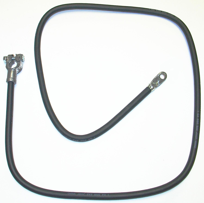 Imagen de Cable de batería para Mercedes-Benz 250 1972 Nissan Axxess 1990 Marca AC Delco Número de Parte 1BC65