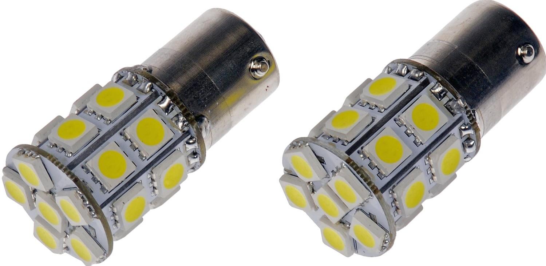 Imagen de Bombilla de luz de retroceso para Hyundai Kia Chevrolet Acura Honda Toyota Marca DORMAN - CONDUCT-TITE Número de Parte #1156W-SMD