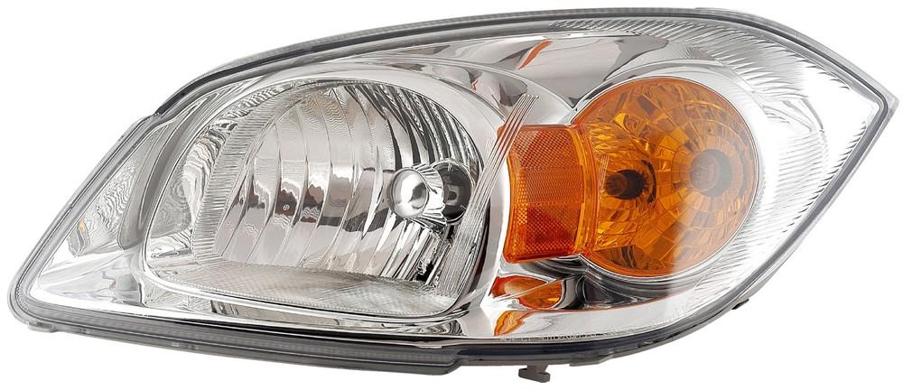 Imagen de Conjunto de Faros Delanteros para Chevrolet Cobalt 2006 2008 Marca DORMAN Número de Parte 1591033