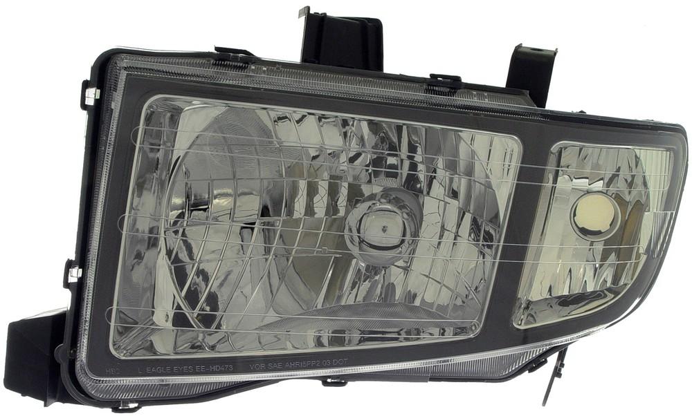 Imagen de Conjunto de Faros Delanteros para Honda Ridgeline 2006 2007 2008 Marca DORMAN Número de Parte 1591129