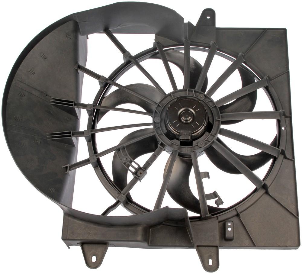 Imagen de Montura de ventilador de enfriado de motor para Jeep Grand Cherokee 2006 2008 Marca DORMAN Número de Parte #620-051